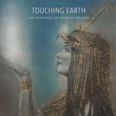 Touching-Earth-Fine-Art- Bookwings-of-light_Kimberly-Webber_Contemporary-Symbolist-Paintings_Magical-Realism_Transcendental-Art_Archetypal-Visionary-Artist_Taos-New-Mexico