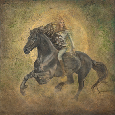 icine-horse_Kimberly-Webber_Contemporary-Symbolist-Paintings_Magical-Realism_Transcendental-Art_Archetypal-Visionary-Artist_Taos-New-Mexico