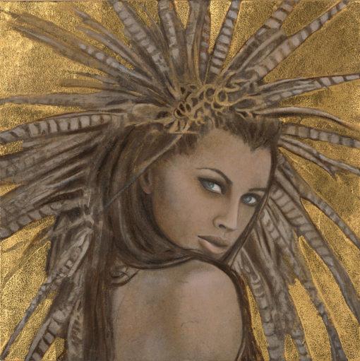 Shakti_Kimberly-Webber_Contemporary Symbolist Paintings_Magical Realism_Transcendental Art_Archetypal Visionary Artist_Taos New Mexico
