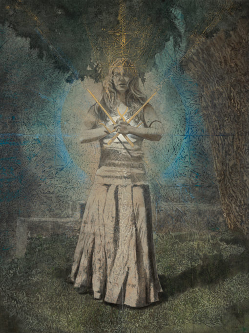 phoenix_Kimberly-Webber_Contemporary Symbolist Paintings_Magical Realism_Transcendental Art_Archetypal Visionary Artist_Taos New Mexico