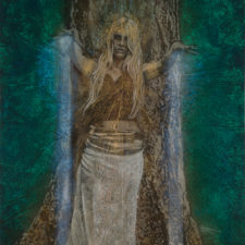 the-goddess_Kimberly-Webber_Contemporary Symbolist Paintings_Magical Realism_Transcendental Art_Archetypal Visionary Artist_Taos New Mexico