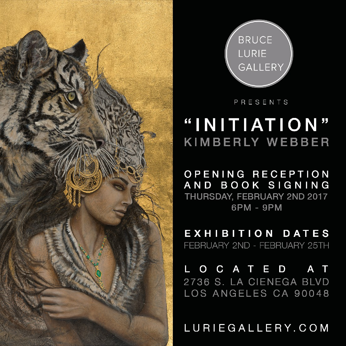 """INITIATION"" New Paintings by Kimberly Webber"