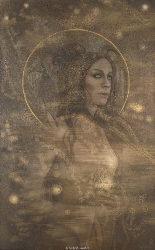 Many Stories_Kimberly Webber_Contemporary Symbolist Paintings_Transcendent Art_Visionary Archetypal Painter_Taos New Mexico