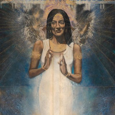 ancient-light_Kimberly-Webber_Contemporary Symbolist Paintings_Magical Realism_Transcendental Art_Archetypal Visionary Artist_Taos New Mexico