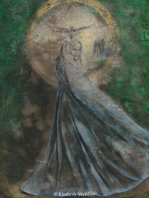 circe-of-trees_Kimberly-Webber_Contemporary Symbolist Paintings_Magical Realism_Transcendental Art_Archetypal Visionary Artist_Taos New Mexico