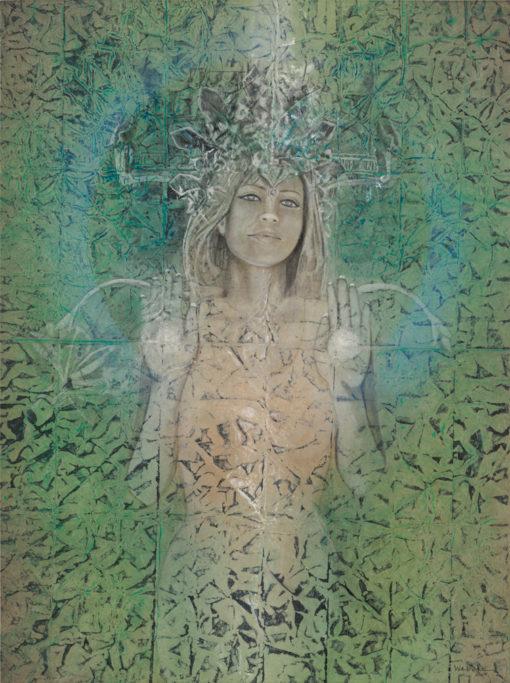 dendara_Kimberly-Webber_Contemporary Symbolist Paintings_Magical Realism_Transcendental Art_Archetypal Visionary Artist_Taos New Mexico