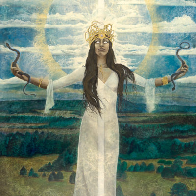 emissary_Kimberly-Webber_Contemporary Symbolist Paintings_Magical Realism_Transcendental Art_Archetypal Visionary Artist_Taos New Mexico