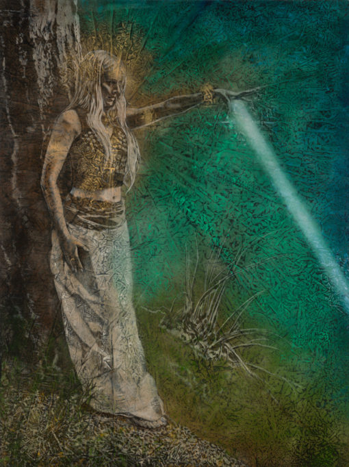 healing-earth_Kimberly-Webber_Contemporary Symbolist Paintings_Magical Realism_Transcendental Art_Archetypal Visionary Artist_Taos New Mexico
