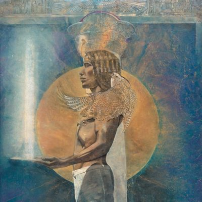 light-echo-osiris_kimberly Webber_Contemporary Symbolist Paintings_Magical Realism_Transcendental Art_Archetypal Visionary Artist_Taos New Mexico