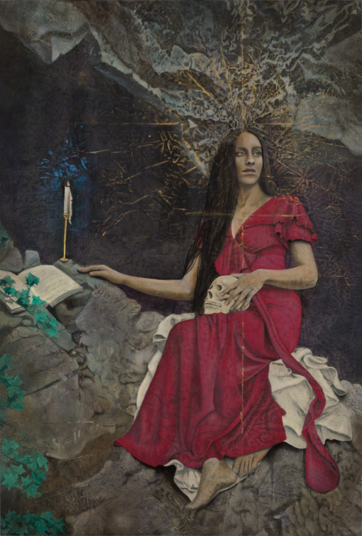 magdalena_Kimberly-Webber_Contemporary Symbolist Paintings_Magical Realism_Transcendental Art_Archetypal Visionary Artist_Taos New Mexico