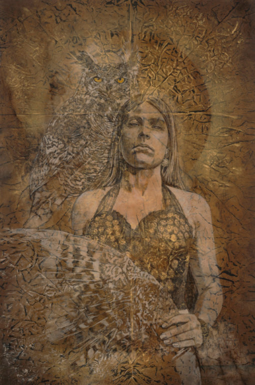 silence_Kimberly-Webber_Contemporary Symbolist Paintings_Magical Realism_Transcendental Art_Archetypal Visionary Artist_Taos New Mexico
